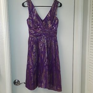Trina Turk Sleeveless Fit and Flare Dress